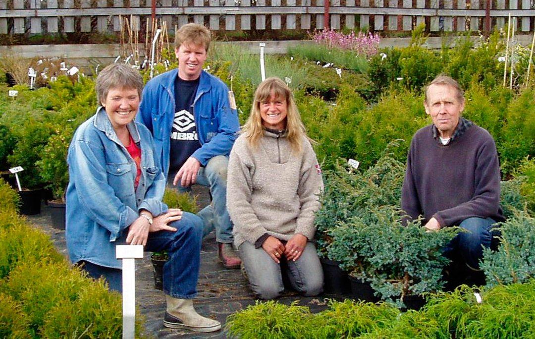familien på vestby planteskole
